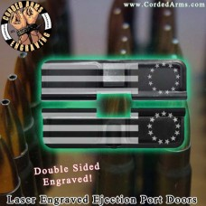 Betsy Ross Flag Laser Engraved Ejection Port Door