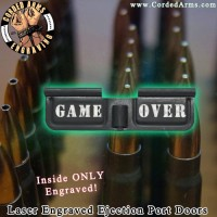 Game Over Laser Engraved Ejection Port Door