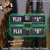 Plan B Laser Engraved Ejection Port Door