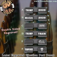 Trump Series 2 Laser Engraved Ejection Port Door