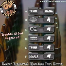 Trump Series 1 Laser Engraved Ejection Port Door