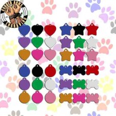 Pet Tag - Dog Tag - Pet ID - Cat ID - Dog ID Charm - ID Key Chain Free Engraving!