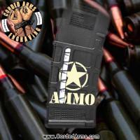 Ammo Star Engraved Windowed Pmag