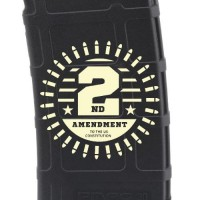 2nd Amendment Bullets Laser Engraved Custom Pmag