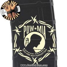 POW Engraved Custom Pmag