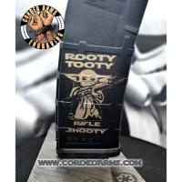 Baby Yoda AR 15 Magazine Pmag - Rooty Tooty Rifle Shooty