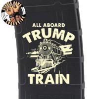 Trump Train 2 Laser Pmag Laser Engraved Custom Pmag
