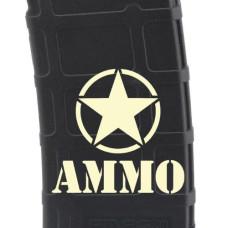 Ammo Laser Engraved Custom Pmag