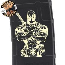 Deadpool Laser Pmag Laser Engraved Custom Pmag