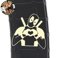 Deadpool Do you Love Me Laser Pmag Laser Engraved Custom Pmag