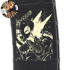 Deadpool Scene Laser Pmag Laser Engraved Custom Pmag