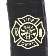 Fire Department Laser Engraved Custom Pmag