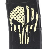 Punisher Skull #2 Laser Engraved Custom Pmag