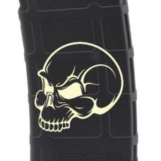 Evil Skull Laser Engraved Custom Pmag