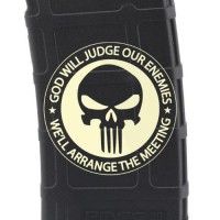 Punisher Meeting Laser Engraved Custom Pmag