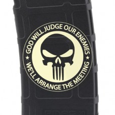 Punisher Meeting Laser Engraved Custom Pmag