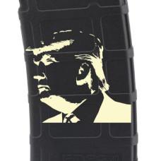 Trump Silhouette #2 Laser Engraved Custom Pmag