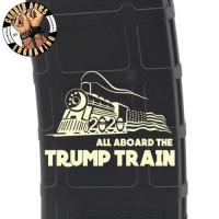 Trump Train 3 Laser Pmag Laser Engraved Custom Pmag