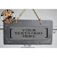 Slate Hanging Sign Door Sign Welcome Sign