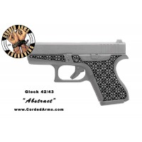 """Abstract"" Custom Glock Stippling G42/43"