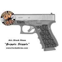 """Gripple Stipple"" Custom Glock Stippling"