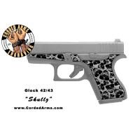 """Skullz"" Custom Glock Stippling G42/43"