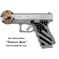 """""""Tattered Grip"""" Custom Glock Stippling"""