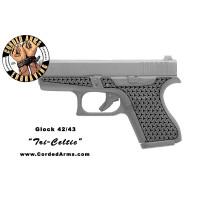 """""""Tri Celtic"""" Custom Glock Stippling G42/43"""