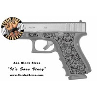 """It's Soo Viney"" Custom Glock Stippling"