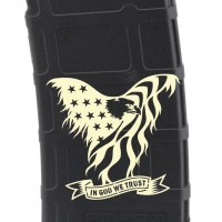 'Merican Eagle Laser Engraved Custom Pmag