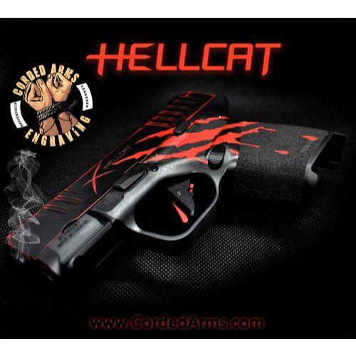 Custom Cerakoted Springfield Armory Hellcat